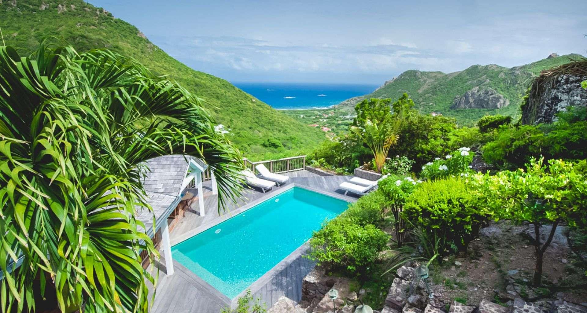 Luxury villa rentals caribbean - St barthelemy - Vitet - Kiara House - Image 1/17