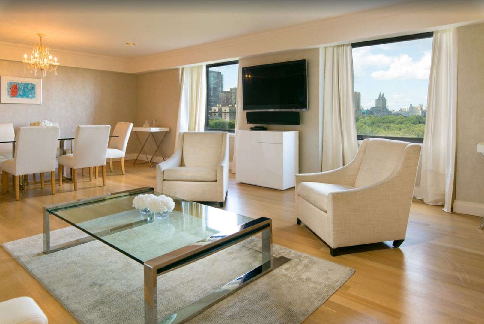 Luxury vacation rentals usa - New york - New york city - Central park - 2 Bedroom Luxury Apartment | Central Park South - Image 1/13