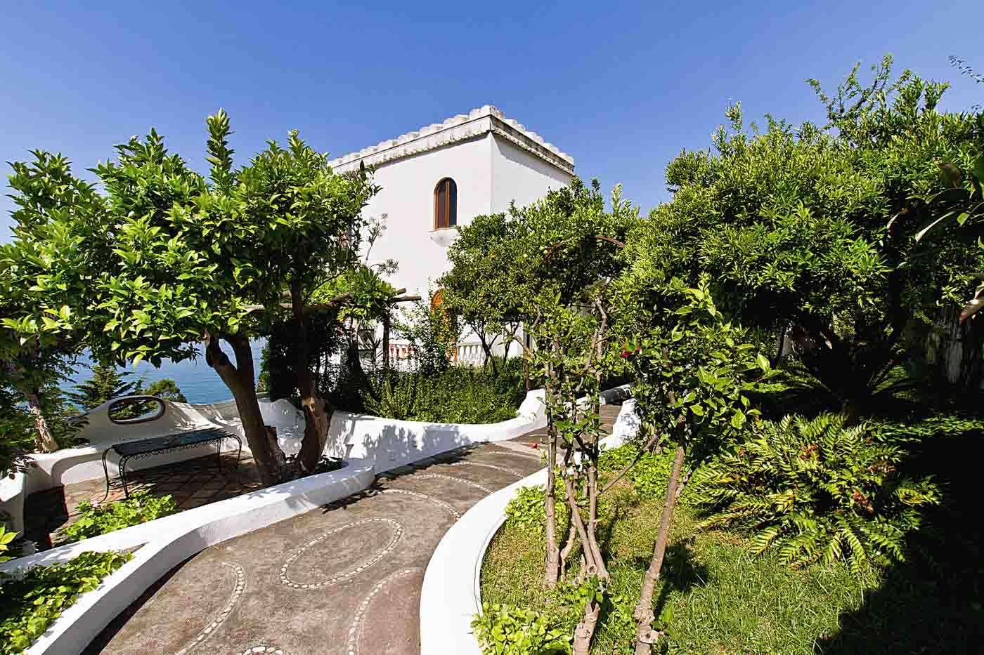 Luxury vacation rentals europe - Italy - Am alfico ast - Prai ano - Diana Villa - Image 1/15