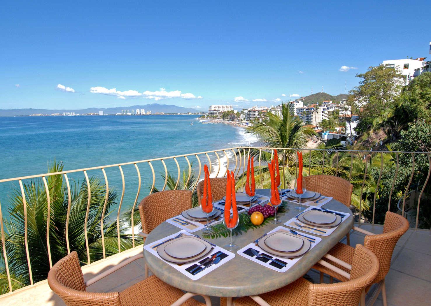 Luxury vacation rentals mexico - Puerto vallarta - Conchas chinas - No location 4 - Villa Romantica | Puerto Vallarta Beach Club - Image 1/6