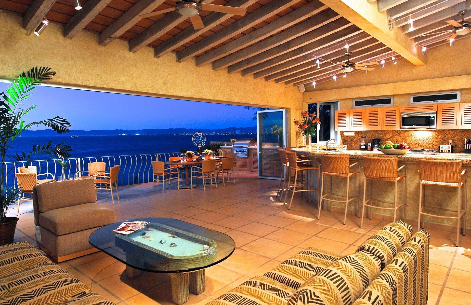 Luxury vacation rentals mexico - Puerto vallarta - Conchas chinas - No location 4 - Villa Alegre | Puerto Vallarta Beach Club - Image 1/6
