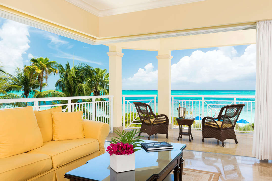 Luxury villa rentals caribbean - Turks and caicos - Providenciales - Windsong resort - Deluxe Oceanfront 2 BD - Image 1/7