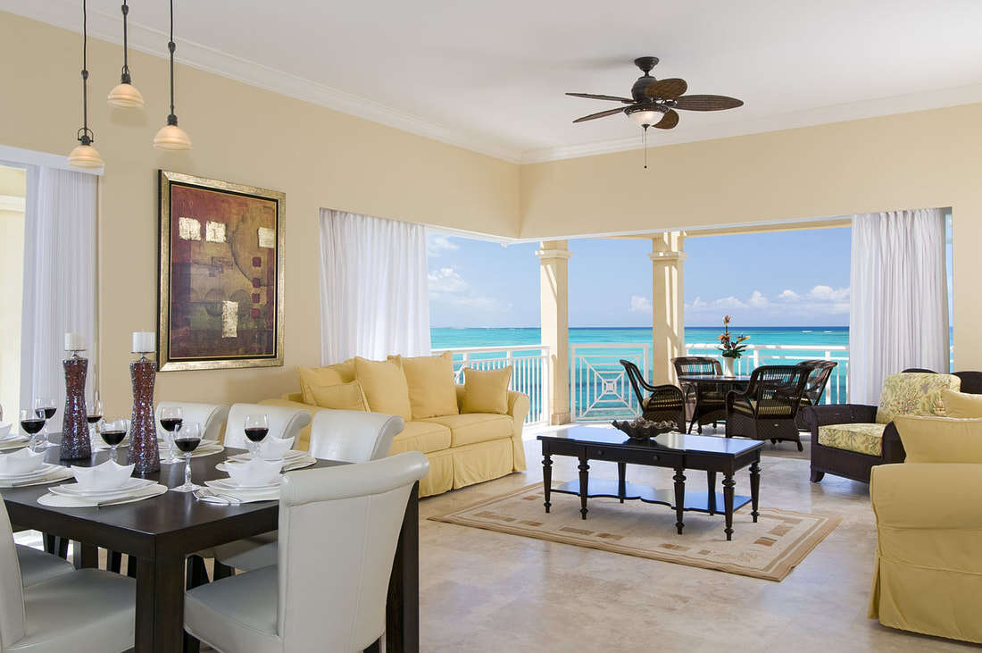 Luxury villa rentals caribbean - Turks and caicos - Providenciales - Windsong resort - Penthouse 2 BD - Image 1/12