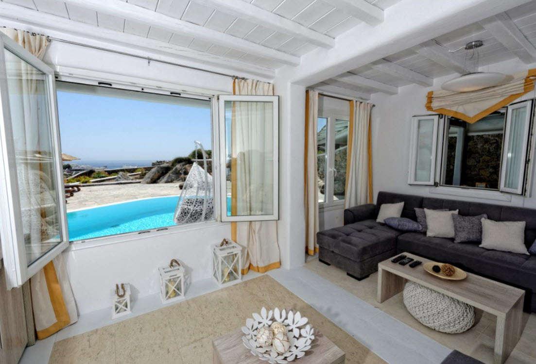 Luxury vacation rentals europe - Greece - Mykonos - Kalafatis - Harmony Villa - Image 1/21