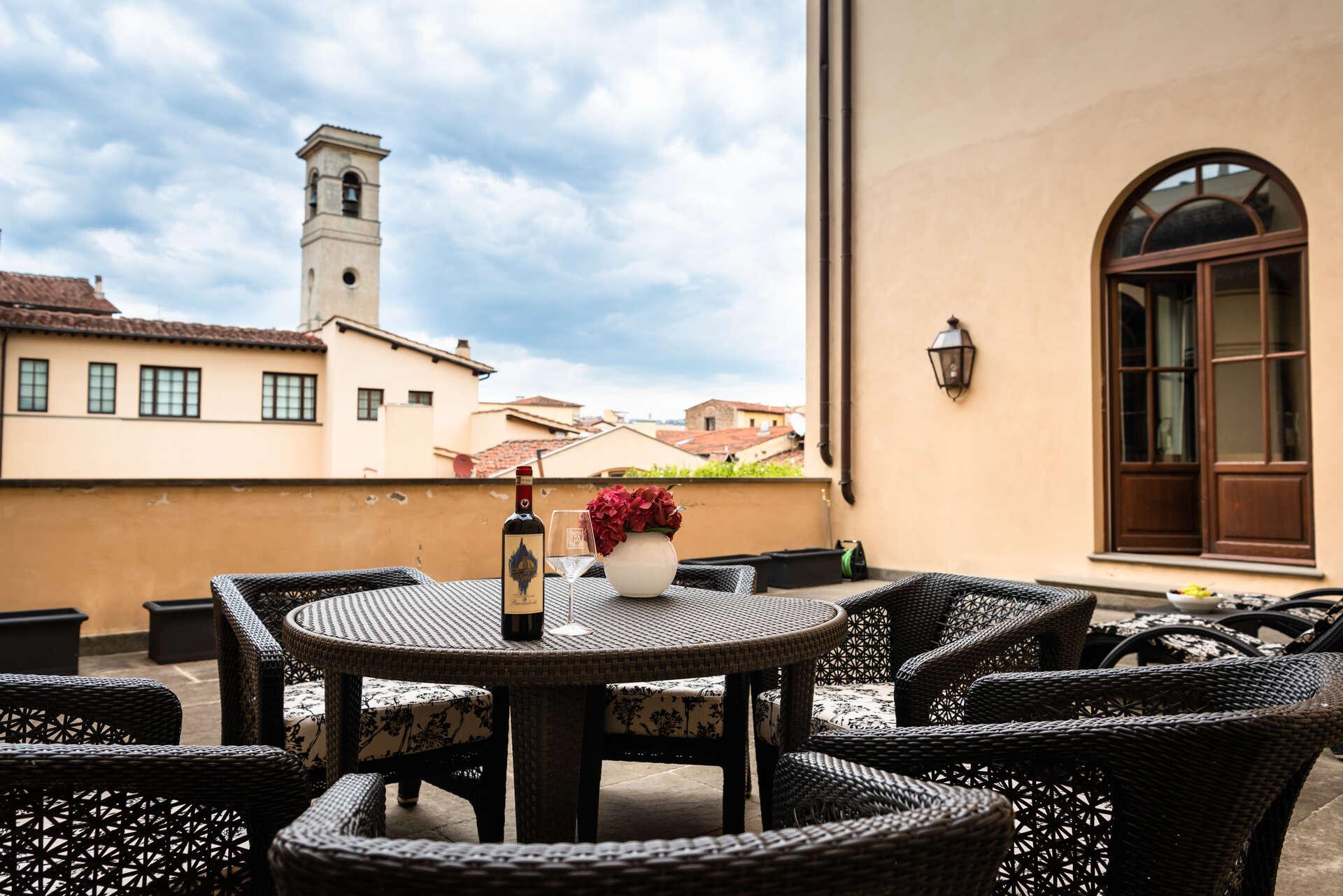 Luxury vacation rentals europe - Italy - Tuscany - Florence - Terraza Buontalenti Apartment - Image 1/47