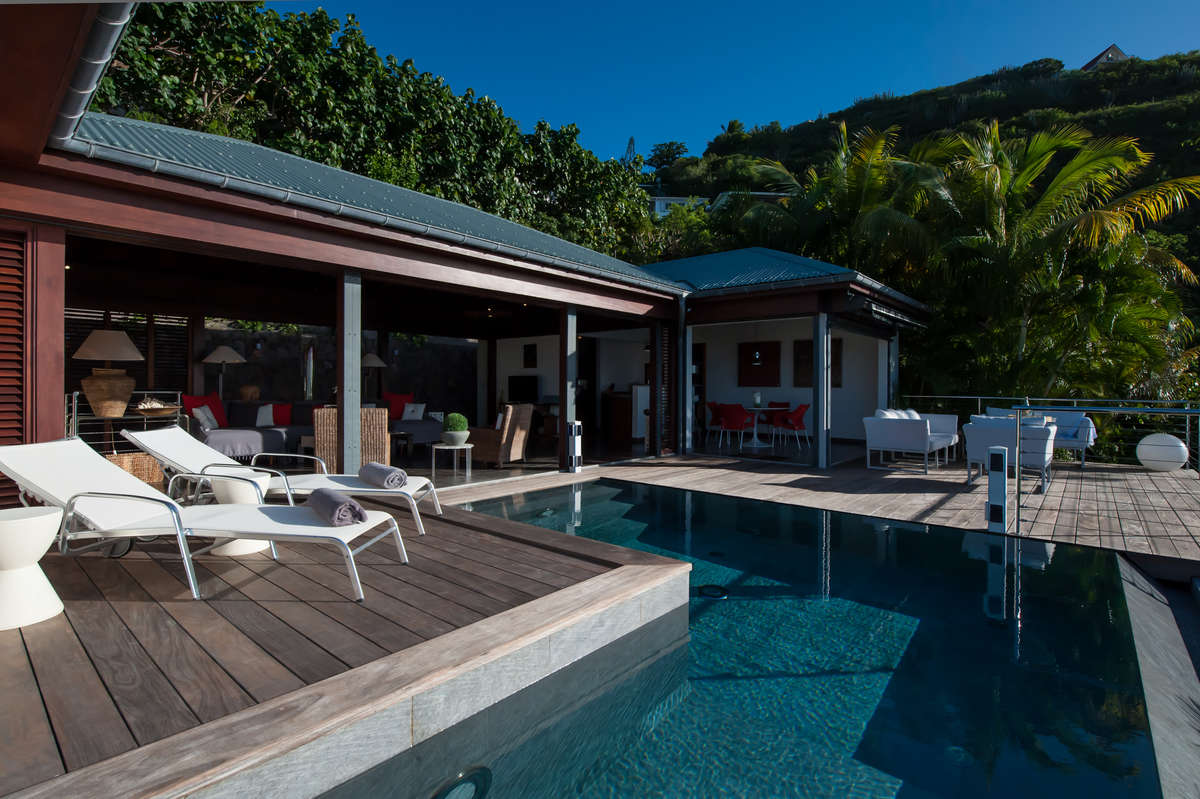 Luxury villa rentals caribbean - St barthelemy - Pointe milou - No location 4 - Villa Pastel - Image 1/18