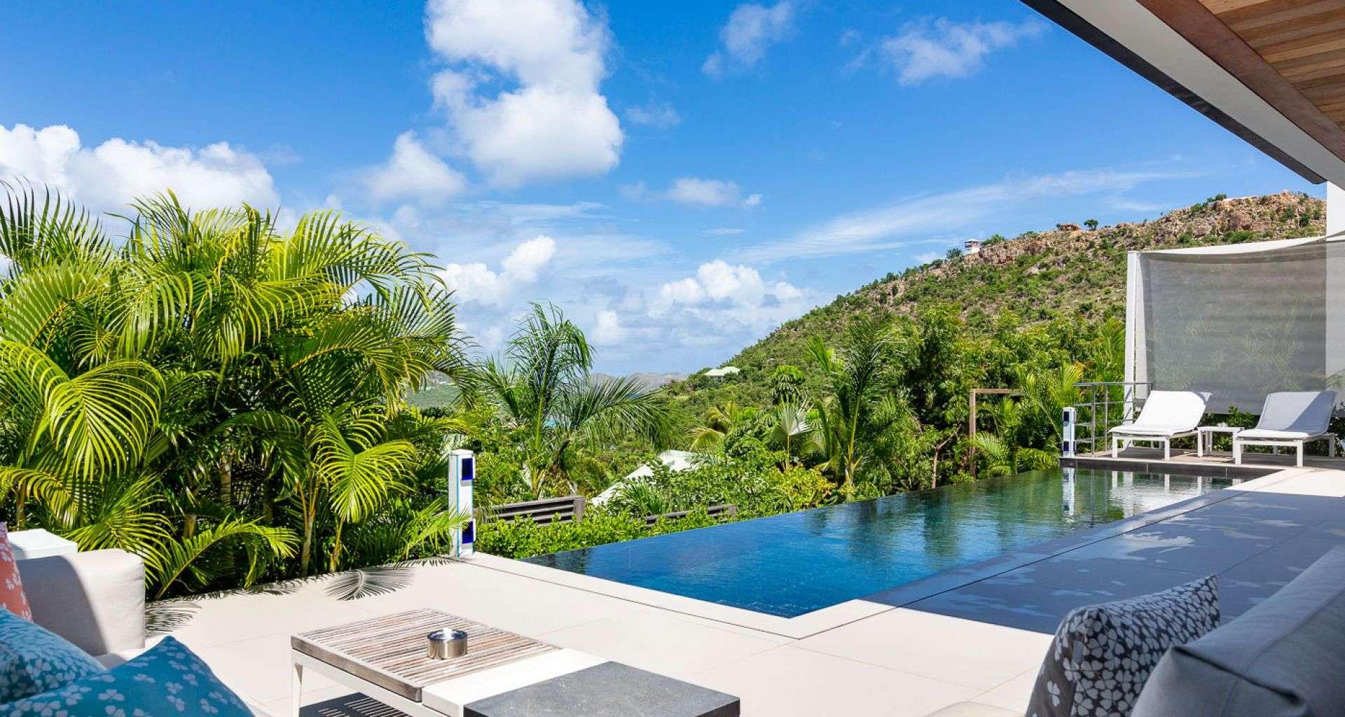 Luxury villa rentals caribbean - St barthelemy - Saint jean - Villa Indyana - Image 1/23