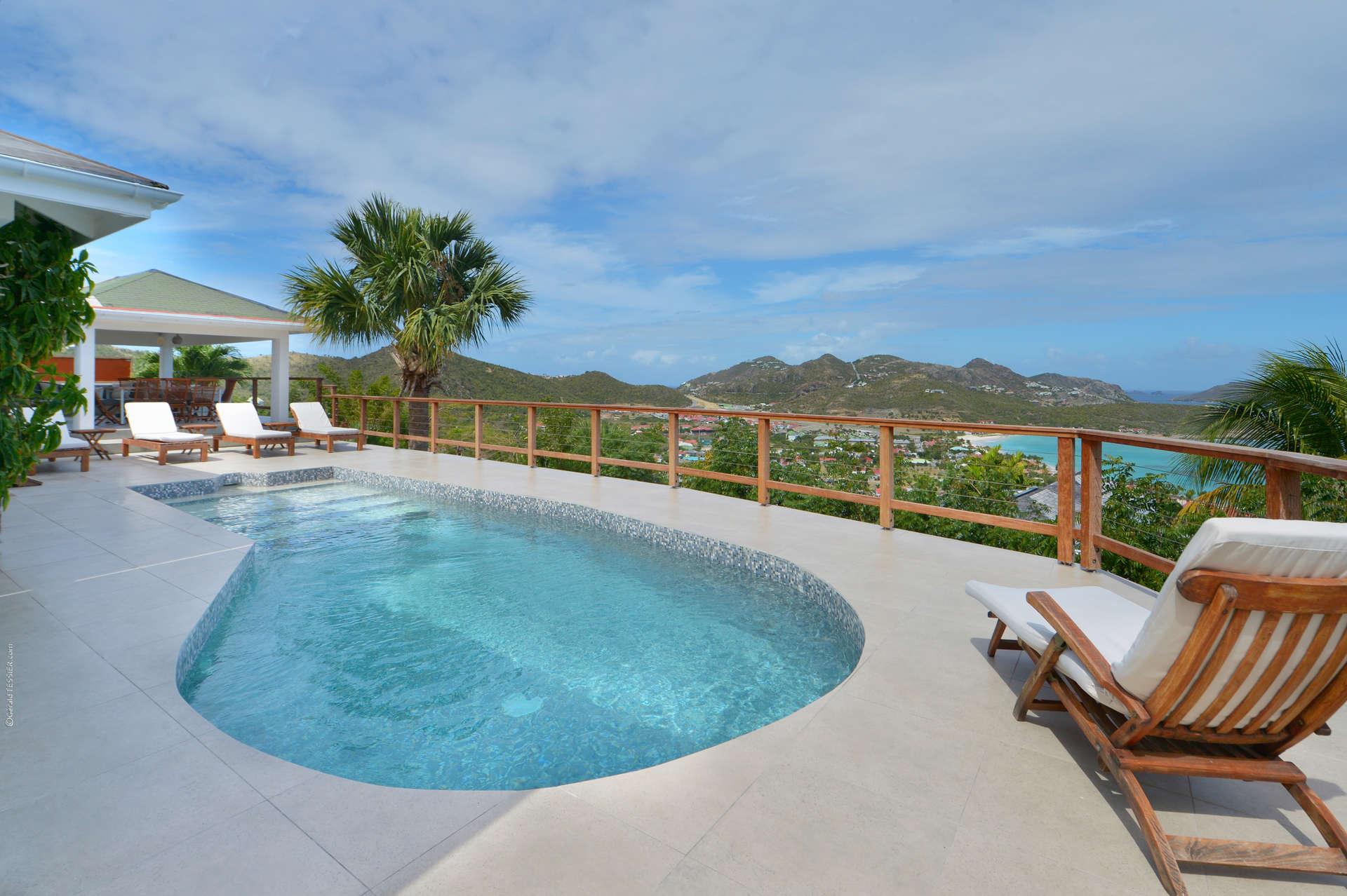 Luxury villa rentals caribbean - St barthelemy - Saint jean - Villa Sunrise - Image 1/16