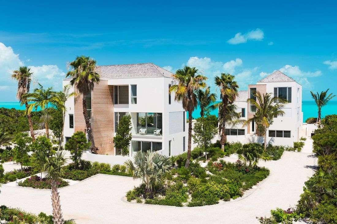 Luxury villa rentals caribbean - Turks and caicos - Providenciales - Long bay - Villa Hyperion - Image 1/15