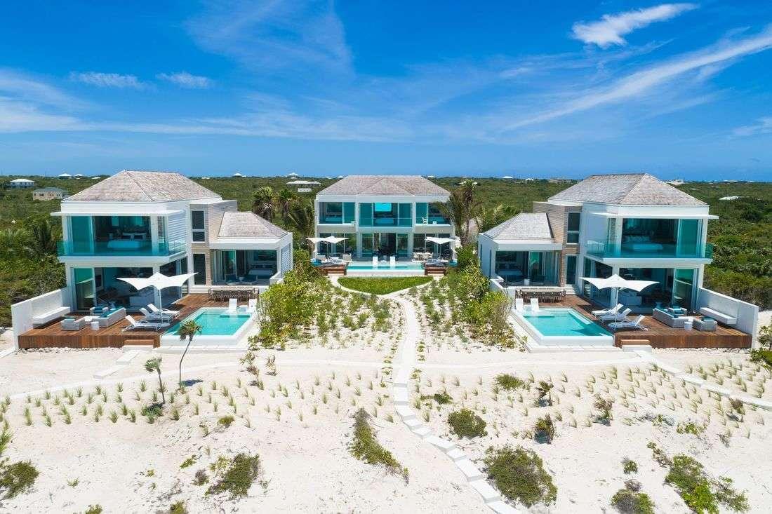 Luxury villa rentals caribbean - Turks and caicos - Providenciales - Long bay - Helios Villa - Image 1/15