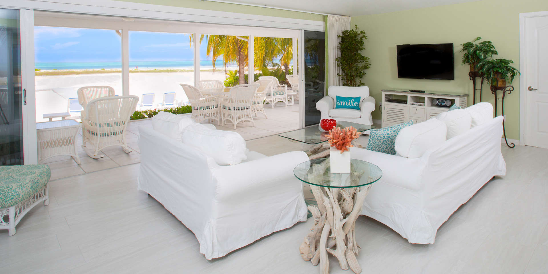 Luxury villa rentals caribbean - Cayman islands - Grand cayman - Cayman kai - Villa Two Rainbows - Image 1/14