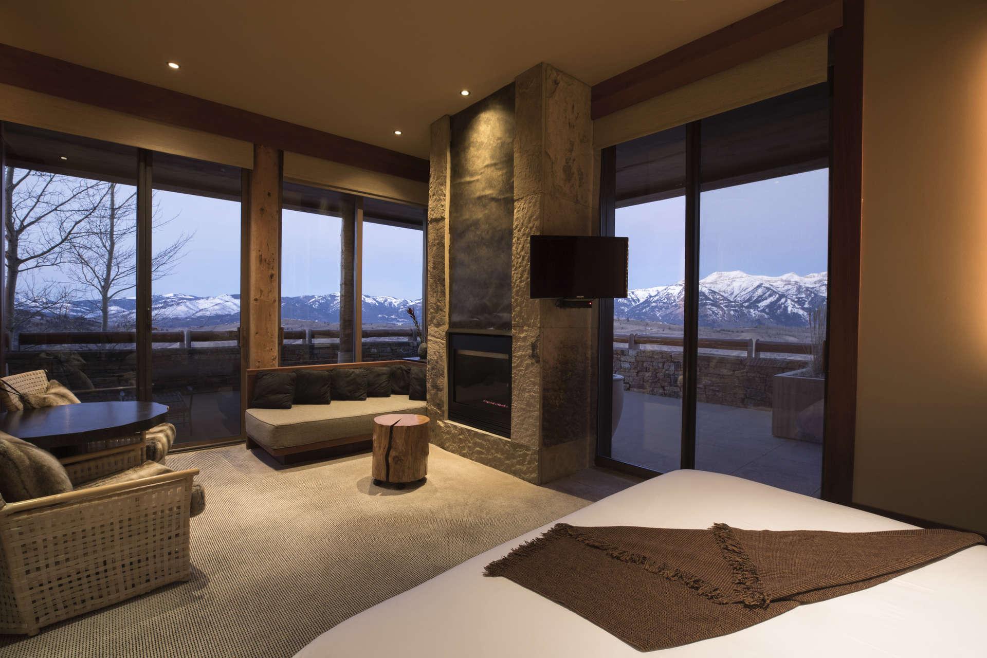 Luxury vacation rentals usa - Wyoming - Jackson hole - Amangani Shoshone Suite - Image 1/6