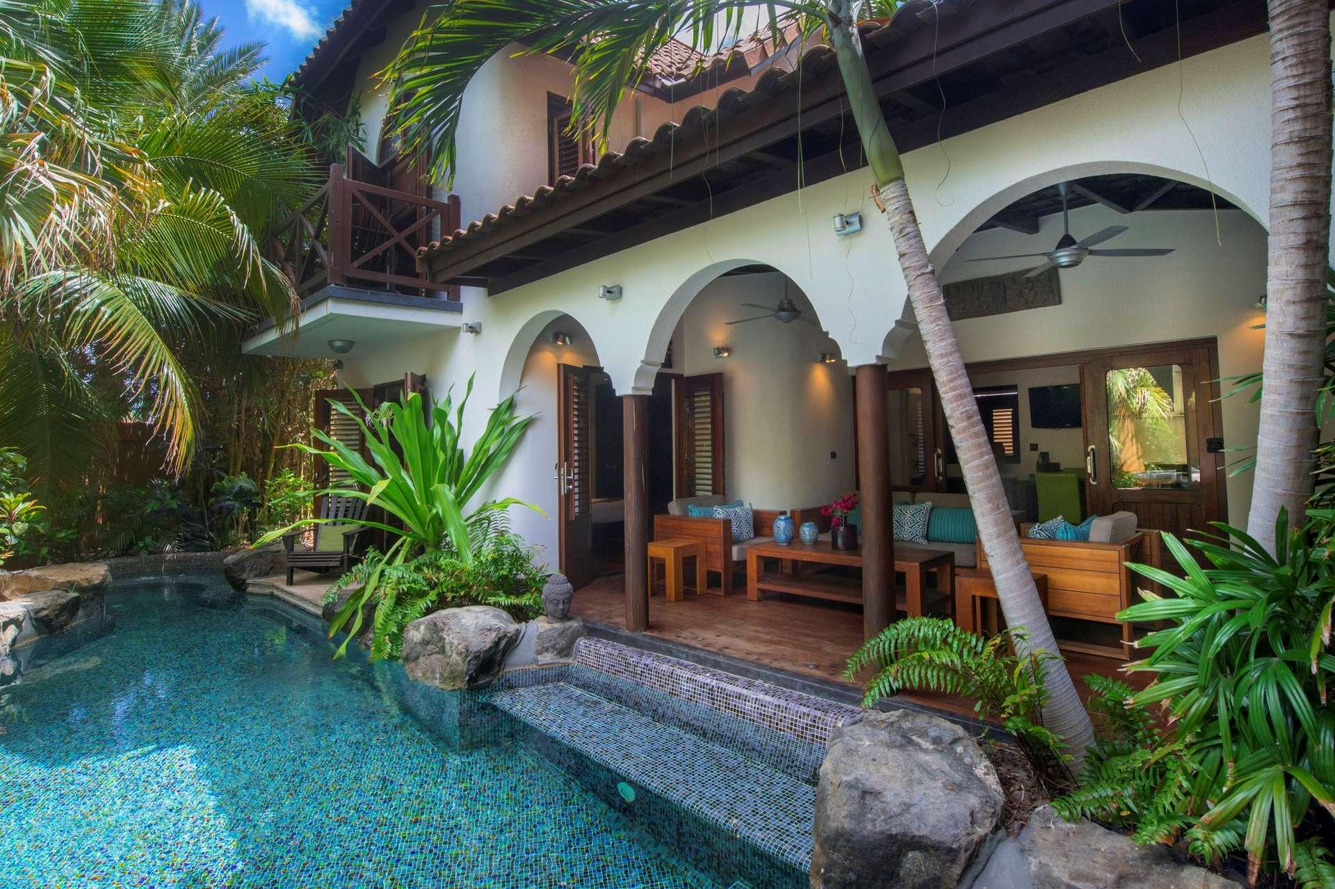 Luxury villa rentals caribbean - Curacao - Baoase luxury resort - No location 4 - Private Pool Villa - Image 1/15