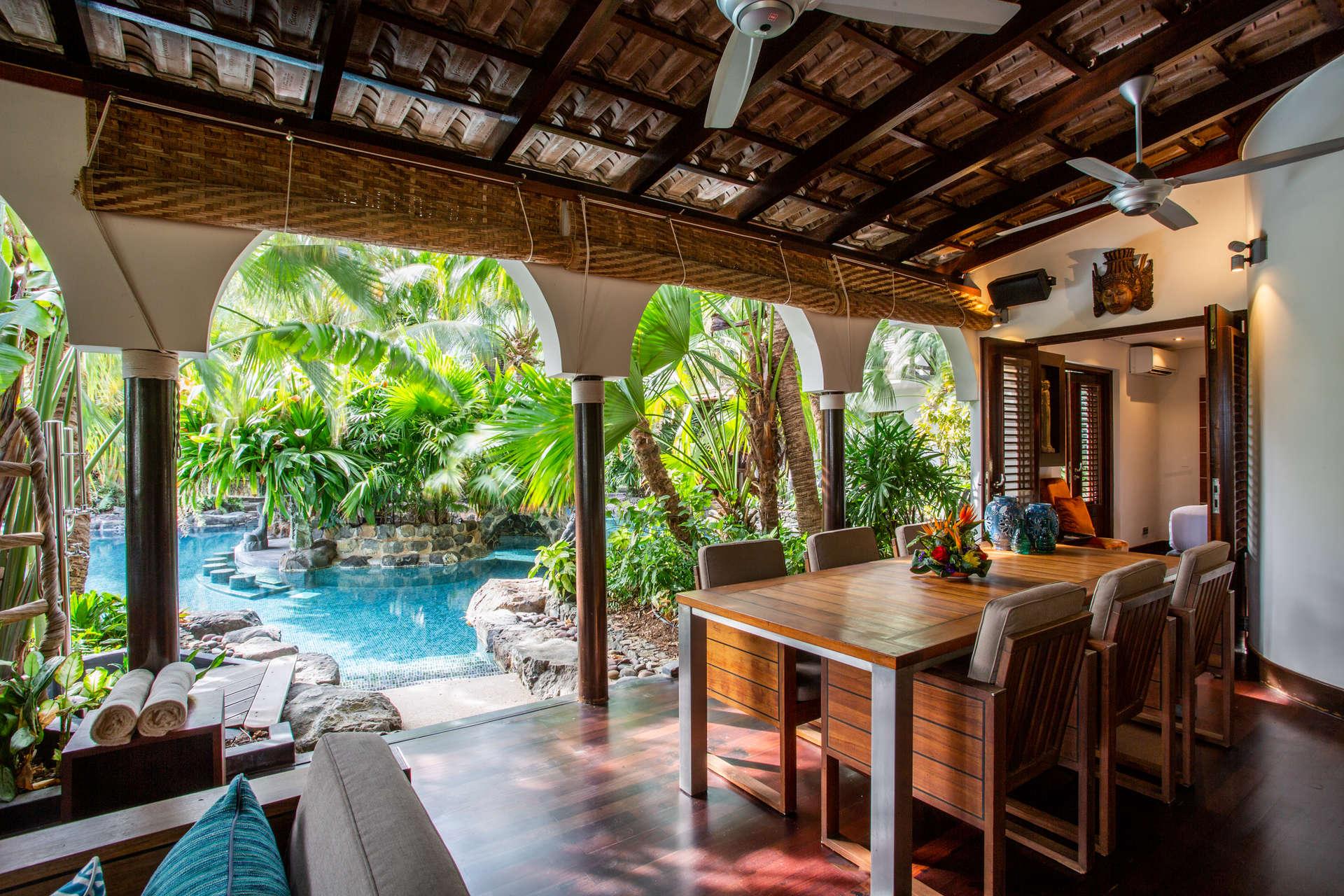 Luxury villa rentals caribbean - Curacao - Baoase luxury resort - No location 4 - Tropical Pool Villas - Image 1/15
