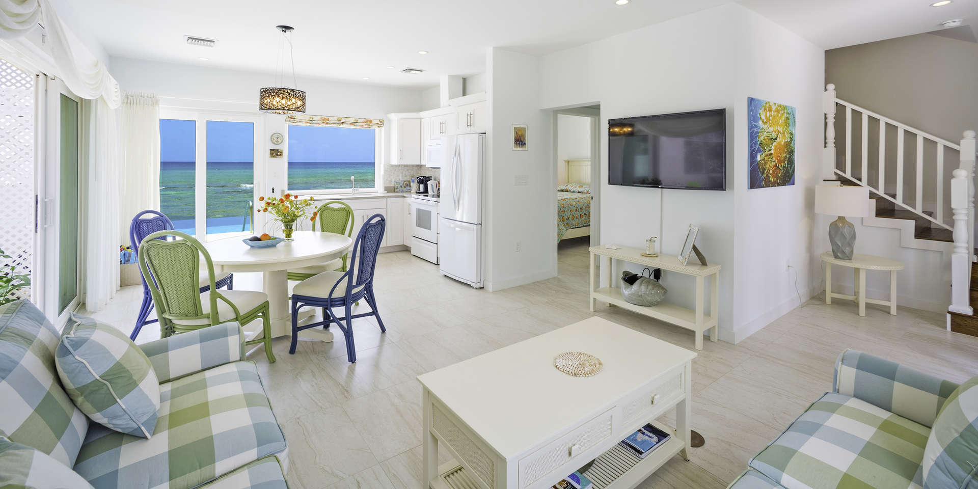 Luxury villa rentals caribbean - Cayman islands - Grand cayman - Old man bay - Coral Cottage Yellow - Image 1/11