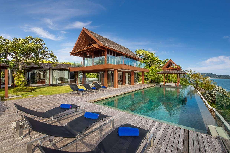 Luxury villa rentals asia - Thailand - Phuket island - Patong - Baan Santisuk - Image 1/23