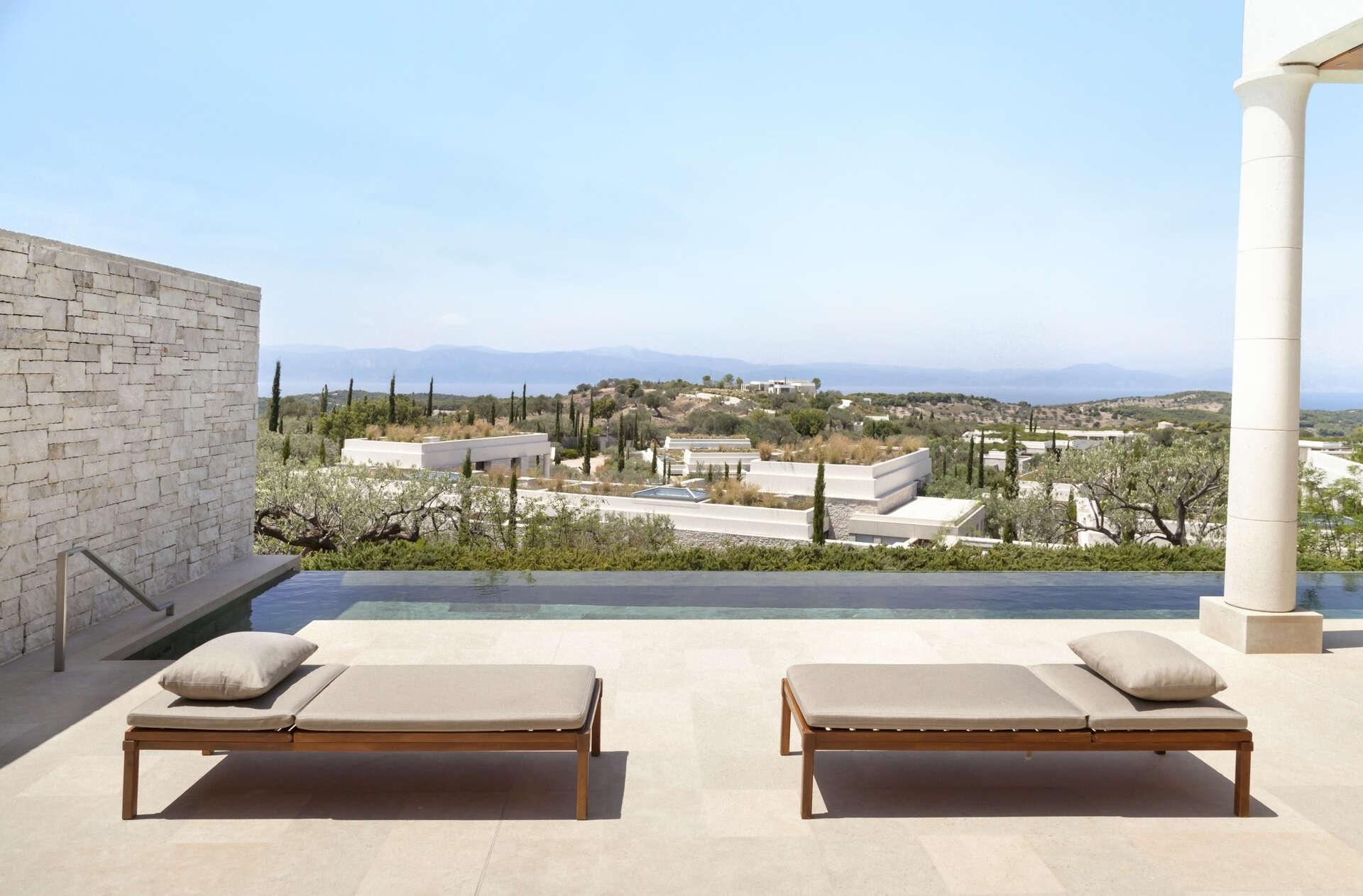 Luxury vacation rentals europe - Greece - Argolis - Amanzoe - Deluxe Premium Pool Pavilion - Image 1/23