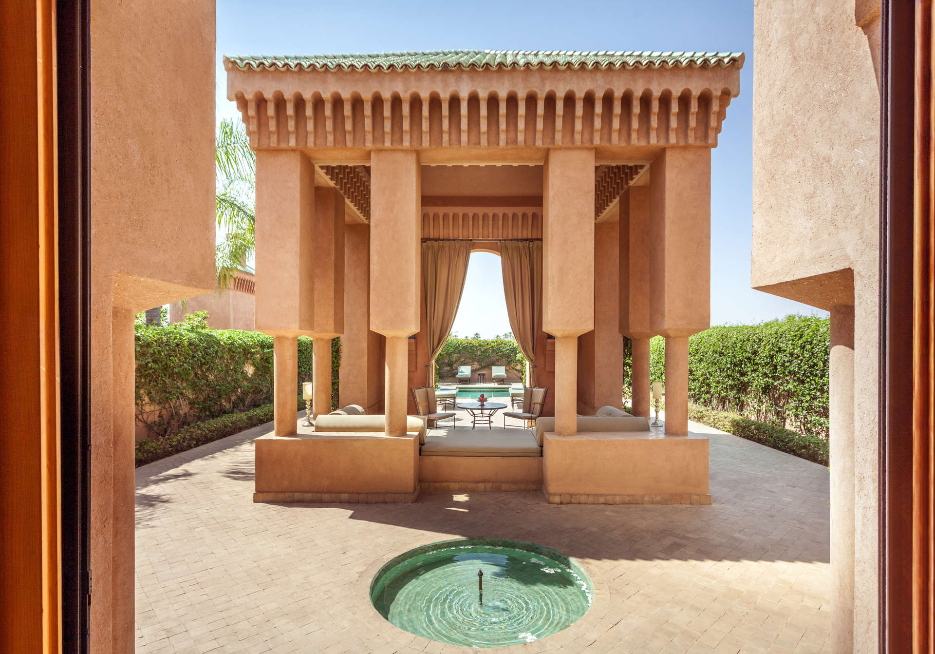 Luxury villa rentals africa - Morocco - Marrakesh - No location 4 - Pavilion Piscine | Amanjena - Image 1/4