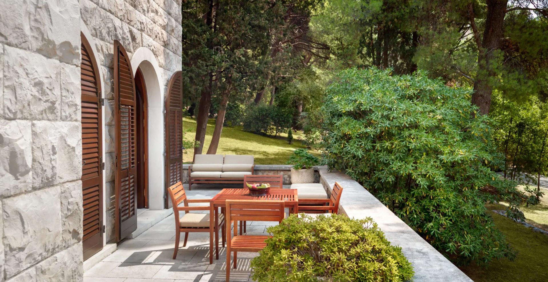 Luxury vacation rentals europe - Montenegro - Aman sveti stefan - No location 4 - Queen Marija Suite | Aman Sveti Stefan - Image 1/5