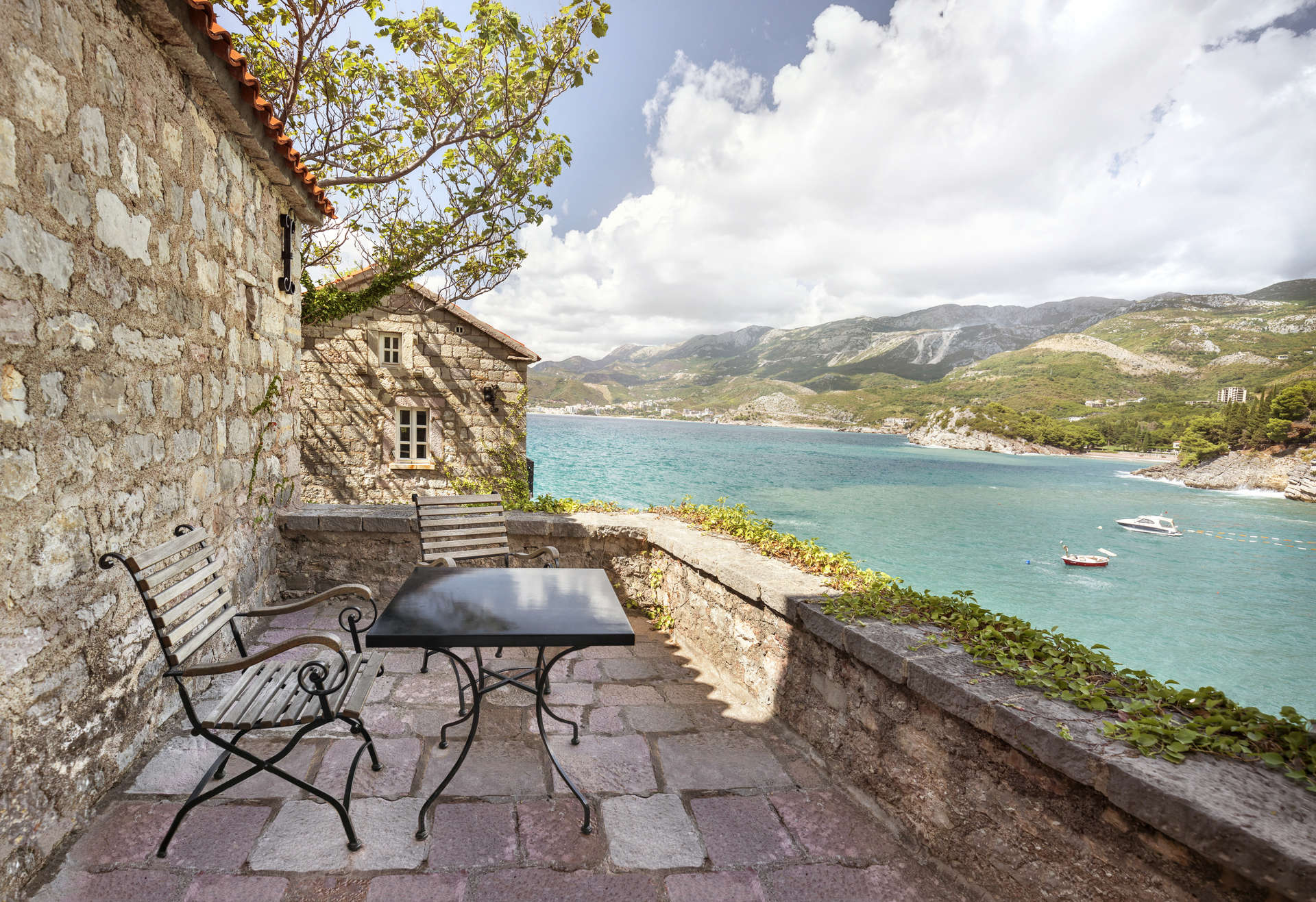 Luxury vacation rentals europe - Montenegro - Aman sveti stefan - St. Sava Cottage - Image 1/7