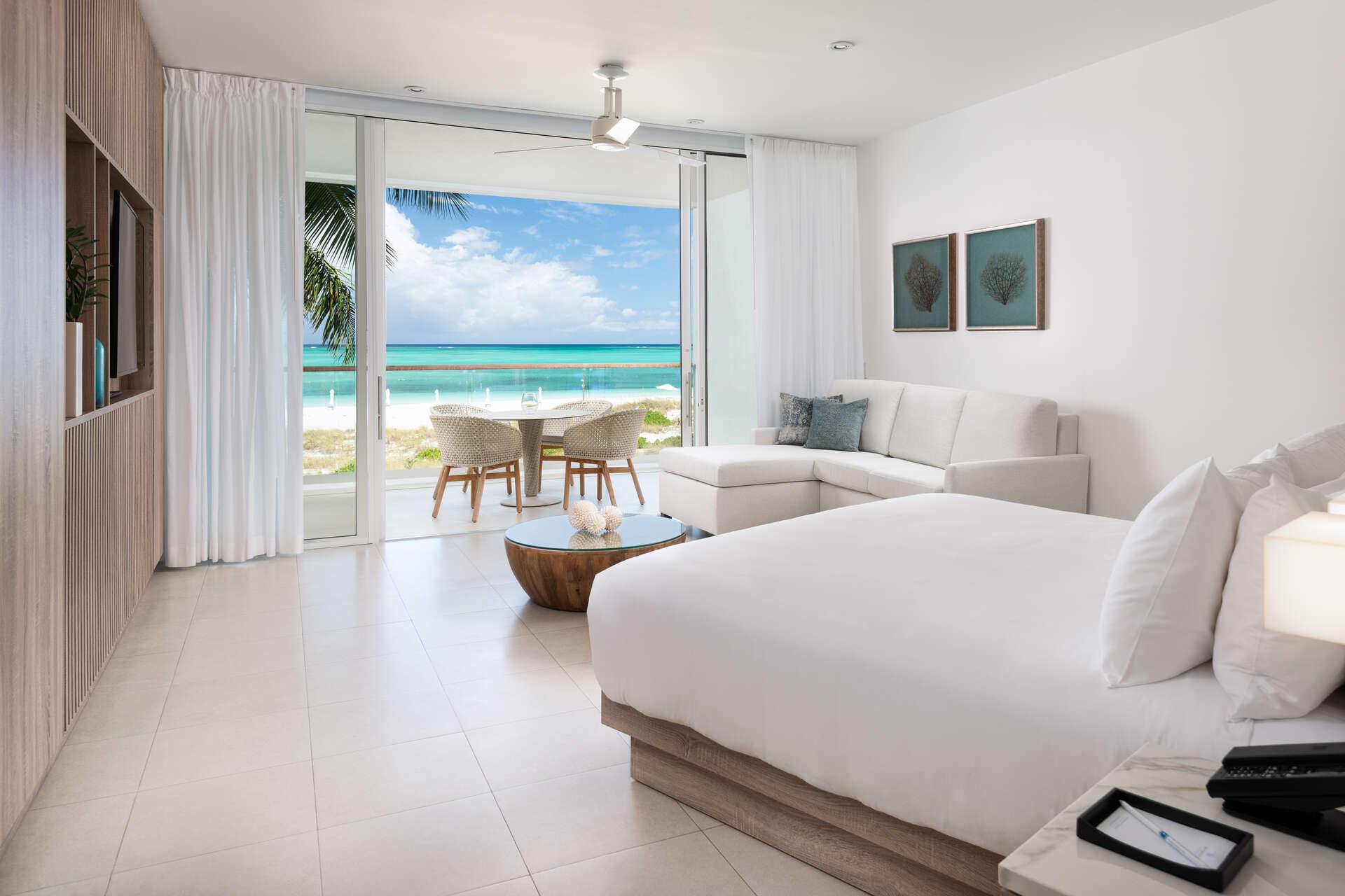 Luxury villa rentals caribbean - Turks and caicos - Providenciales - Wymara resort villas - Oceanfront Studio - Image 1/8