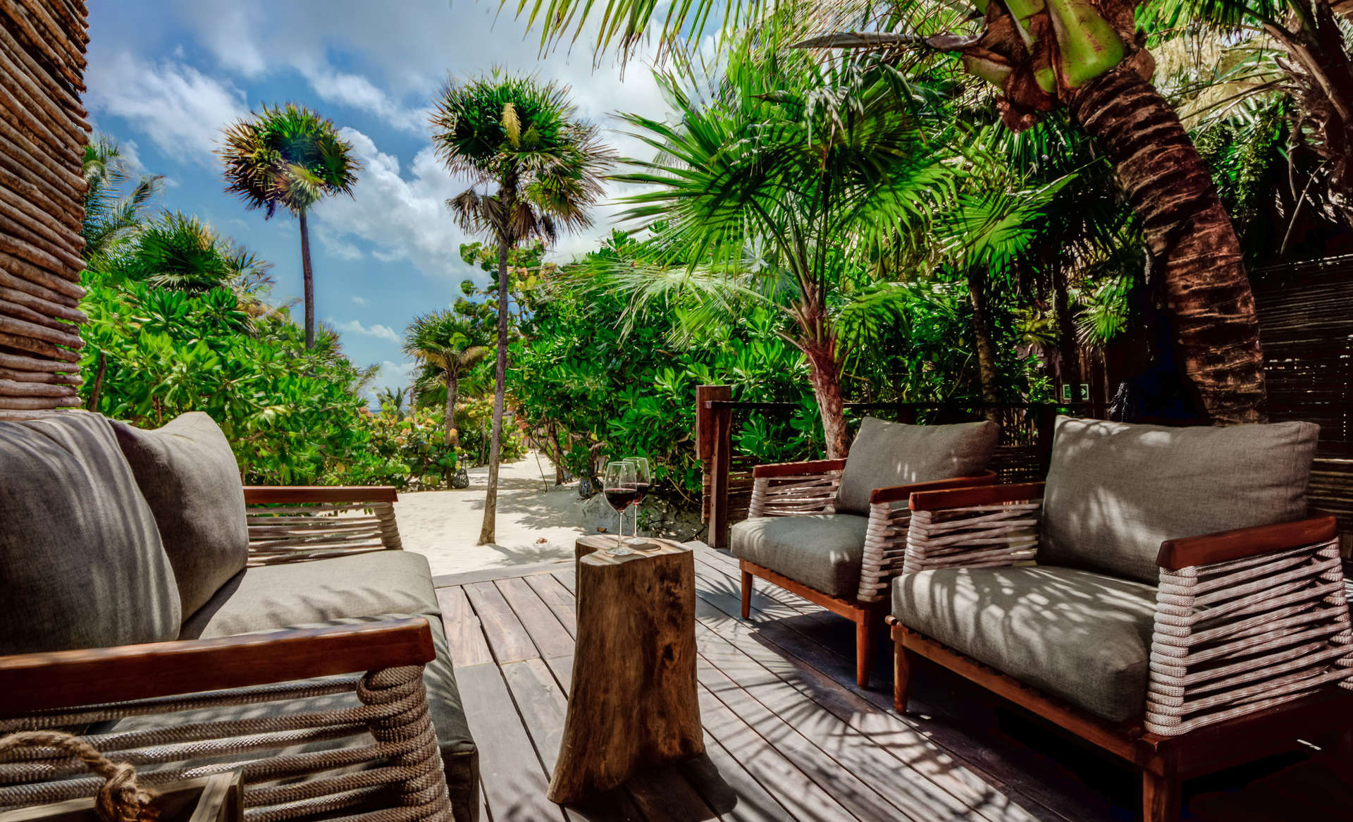 Luxury vacation rentals mexico - Riviera maya - Tulum - No location 4 - Casa Chechen - Image 1/21