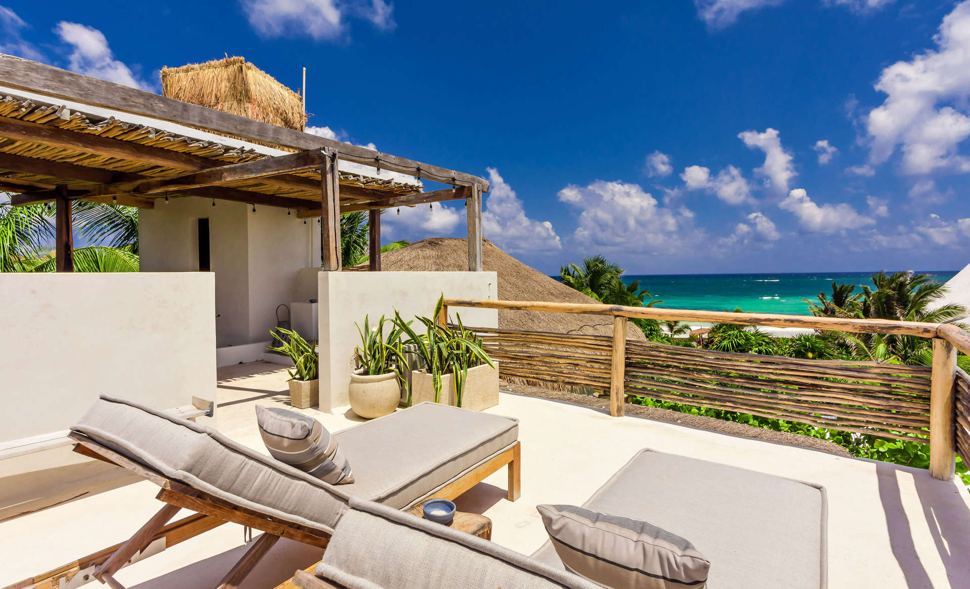 Luxury vacation rentals mexico - Riviera maya - Tulum - Tulum beach zone - Casa Chakte - Image 1/27