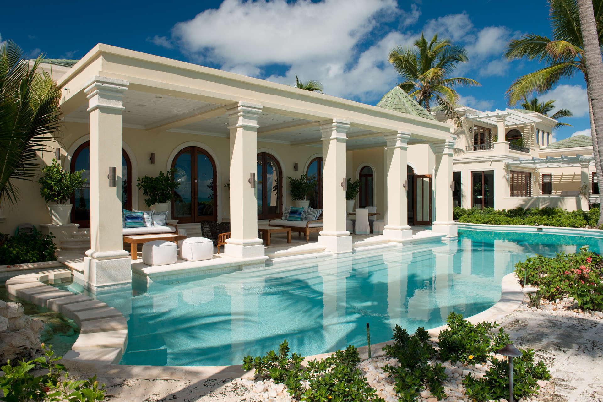 Luxury villa rentals caribbean - Turks and caicos - Providenciales - Grace bay club - La Dolce Vita - Image 1/33