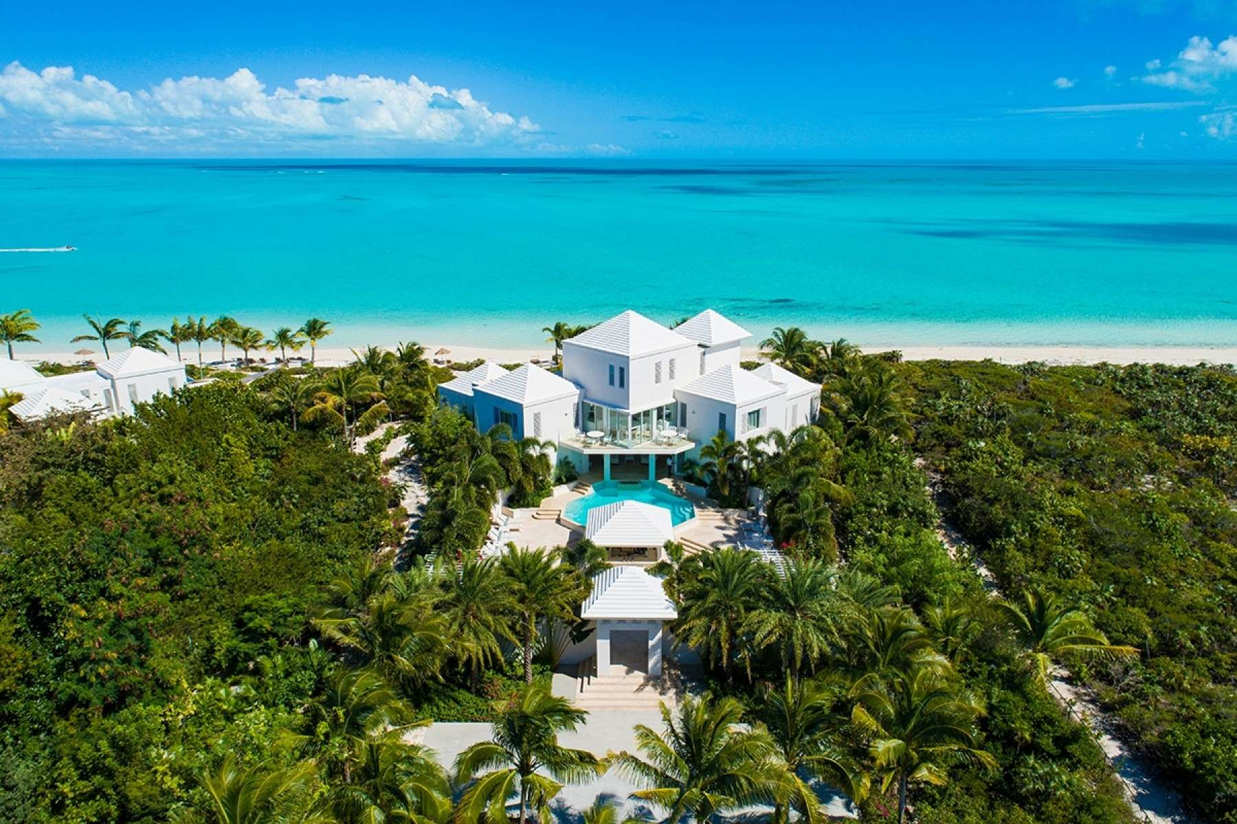 Luxury villa rentals caribbean - Turks and caicos - Providenciales - Long bay - East Pearl House - Image 1/12
