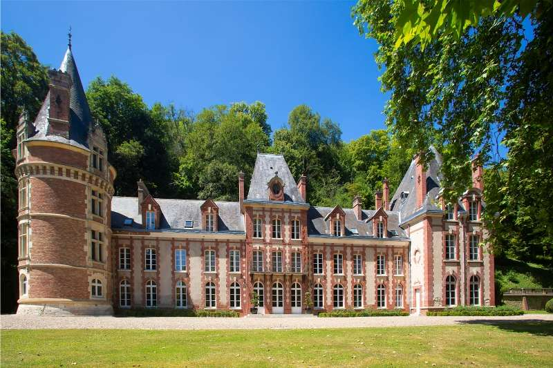 Luxury vacation rentals europe - France - Normandy - Gisors - Chateau Bazin - Image 1/44