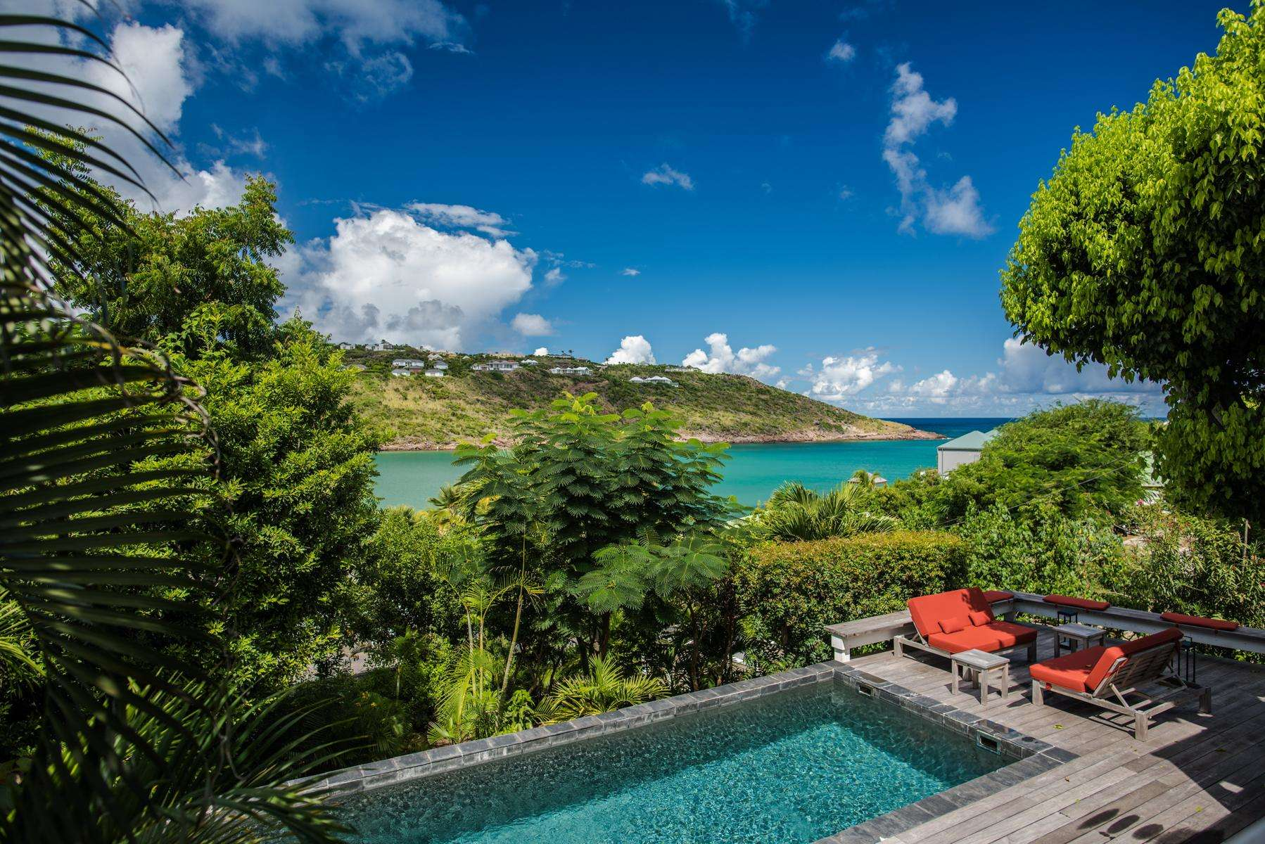 Luxury villa rentals caribbean - St barthelemy - Marigot - No location 4 - Plumeria's House - Image 1/10