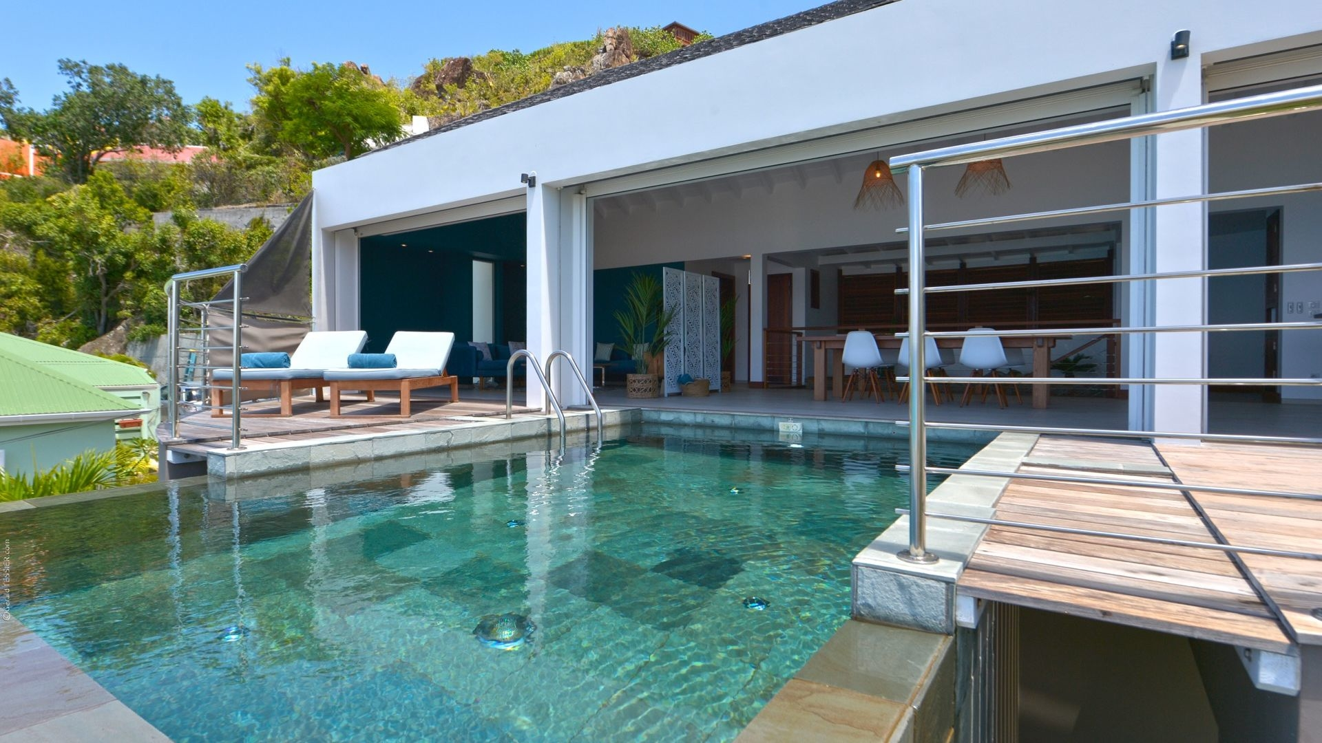 Luxury villa rentals caribbean - St barthelemy - Flamands - No location 4 - Flamands Bay - Image 1/29