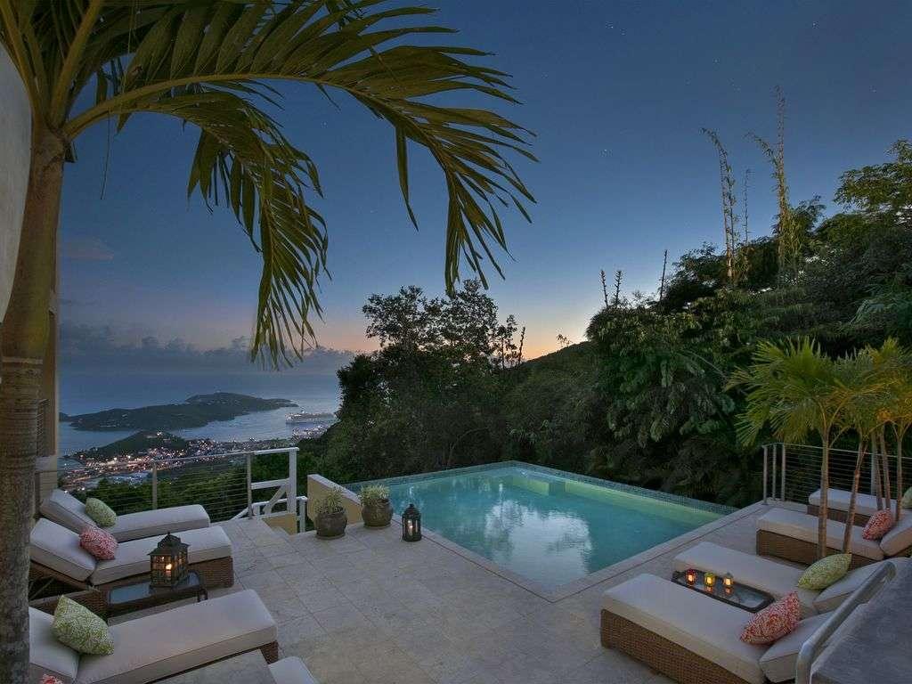 Luxury villa rentals caribbean - Usvi - St thomas - Northside - Outrigger Villa - Image 1/12