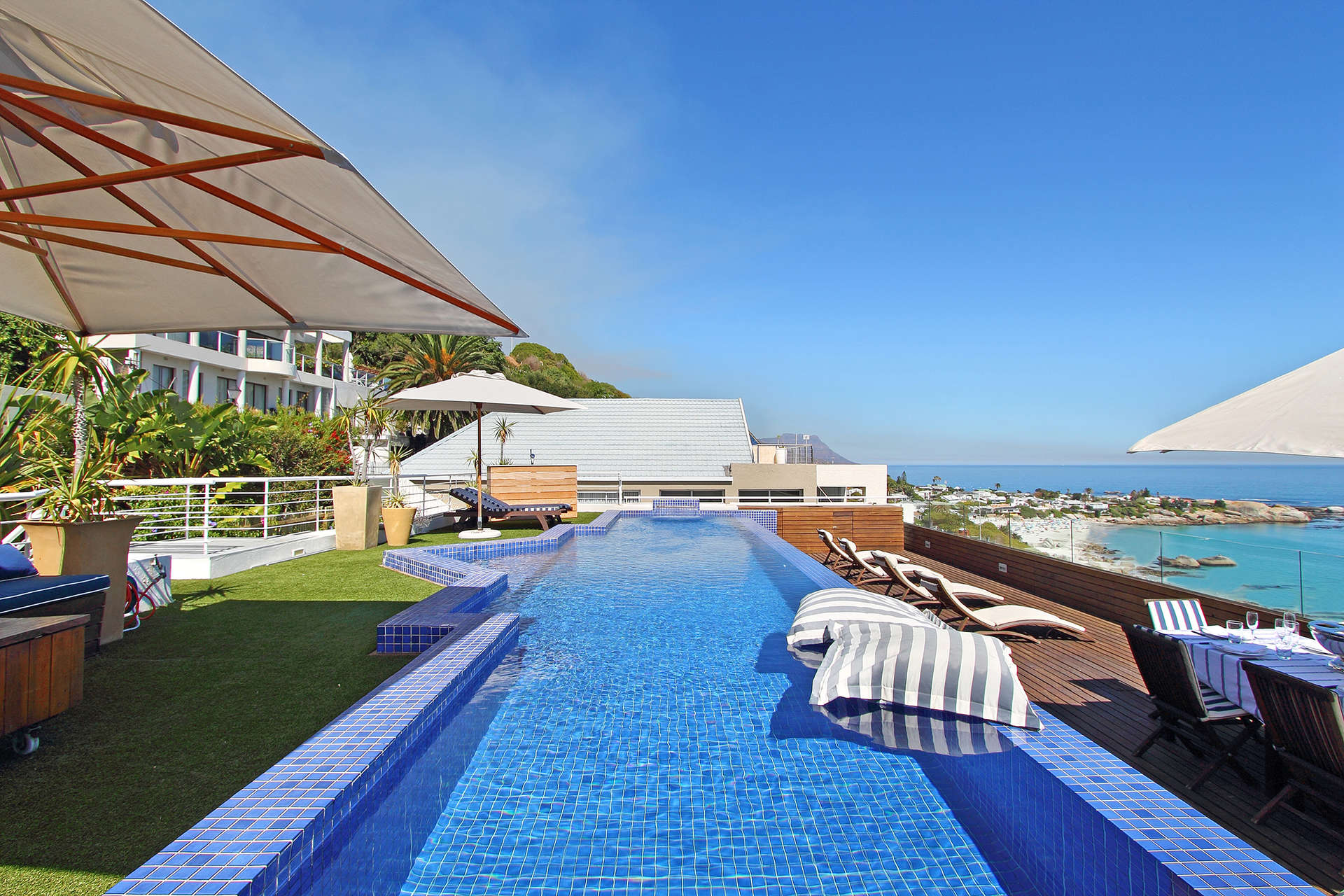 Luxury villa rentals africa - South africa - Capetown - Clifton - Whitecliffs Penthouse - Image 1/31