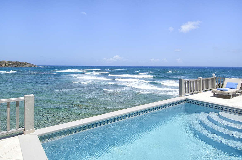 Luxury villa rentals caribbean - St martin - Sint maarten - Dawn beach - Beach House Younes - Image 1/11