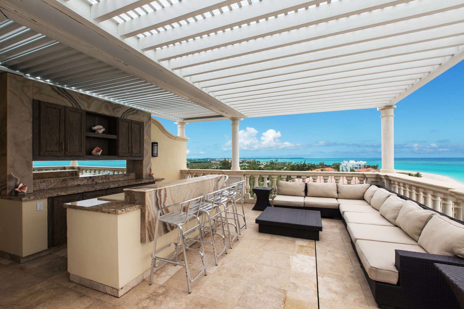 Luxury villa rentals caribbean - Turks and caicos - Providenciales - Grace bay - Penthouse | Bianca Sands - Image 1/14
