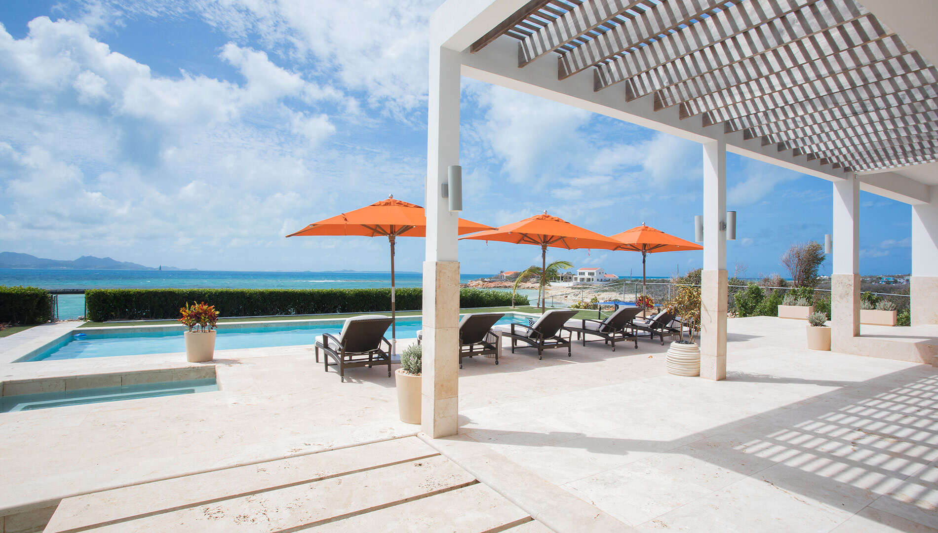 Luxury villa rentals caribbean - Anguilla - Blowing point - Champagne Shores - Image 1/17