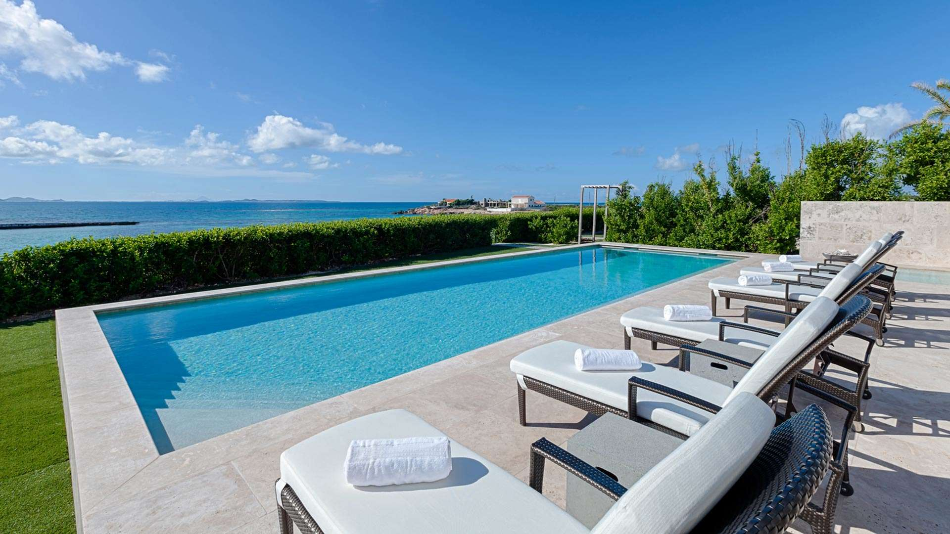 Luxury villa rentals caribbean - Anguilla - Blowing point - No location 4 - Beaches Edge Villa - Image 1/14