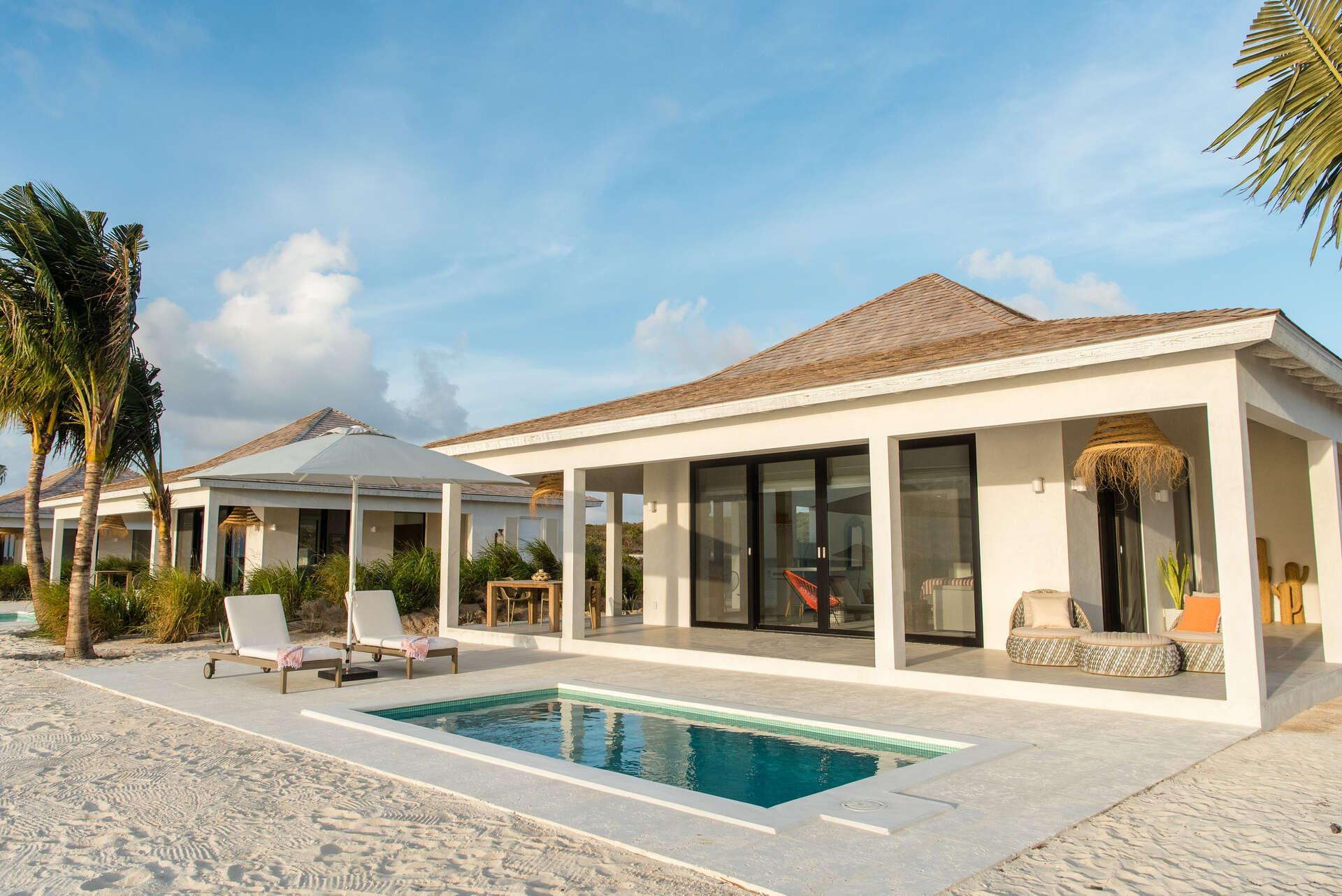 Luxury villa rentals caribbean - Turks and caicos - Ambergris cay - No location 4 - 1 BDM Beachfront - Image 1/19