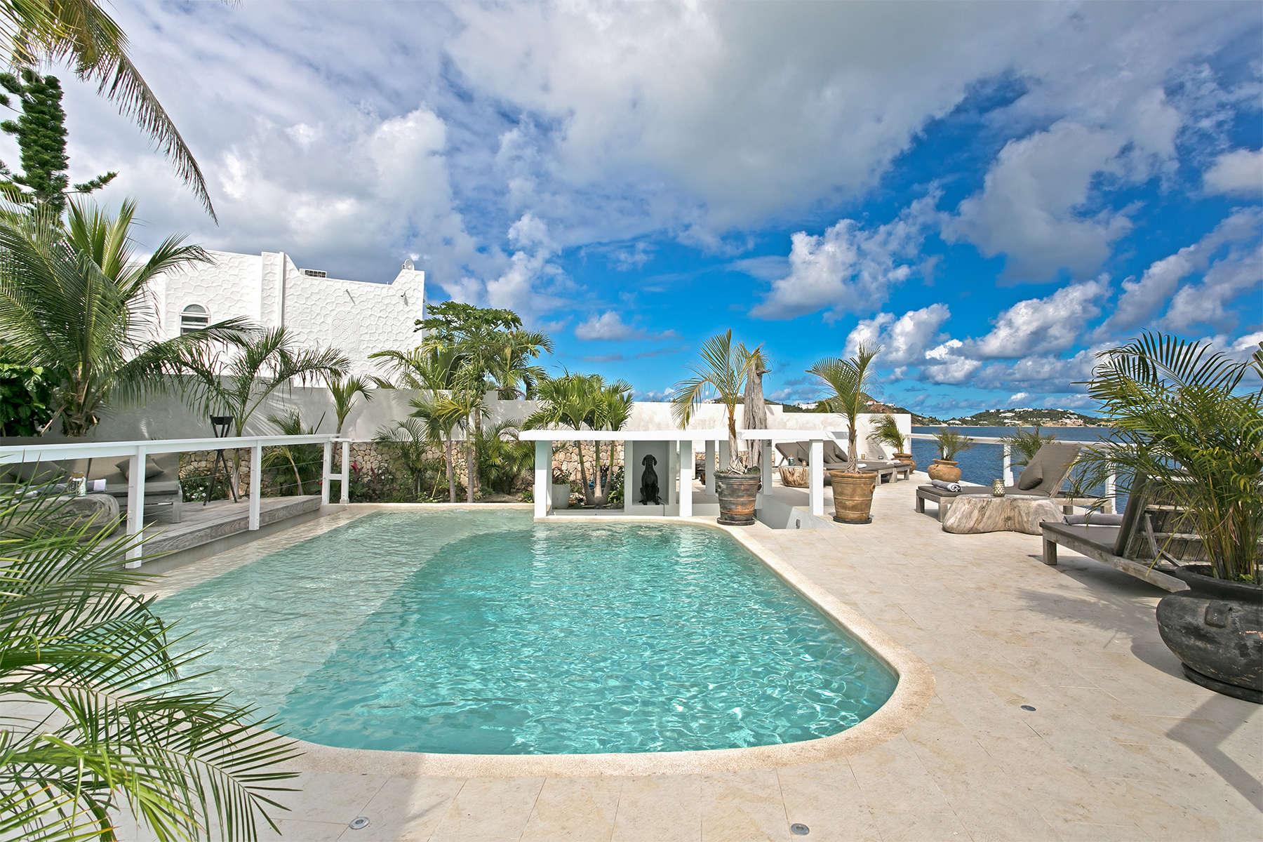 Luxury villa rentals caribbean - St martin - Sint maarten - Simpson bay - Villa Blue Lagoon - Image 1/19
