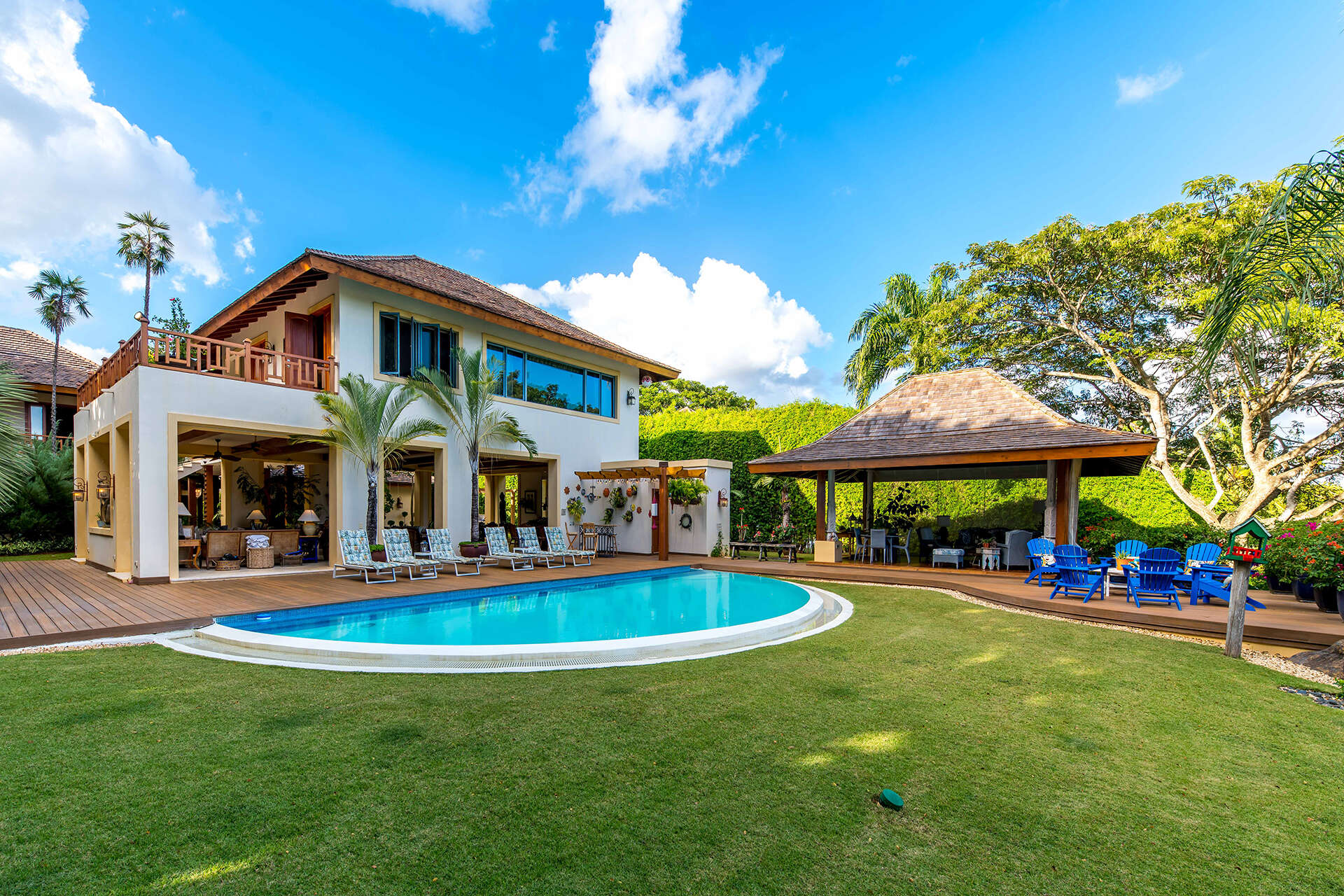 Luxury villa rentals caribbean - Dominican republic - Casa decampo - Bahia Chavon 7 - Image 1/34