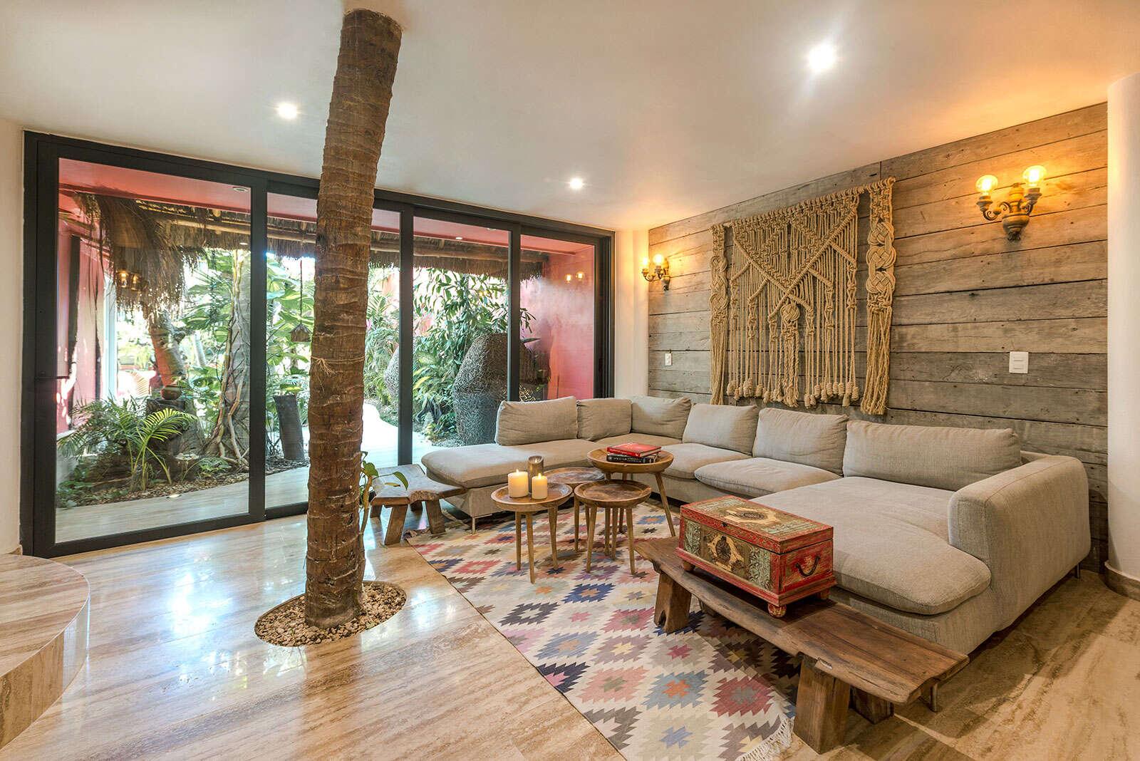 Luxury vacation rentals mexico - Riviera maya - Tulum - Tulum beach zone - Bejuco House - Image 1/19