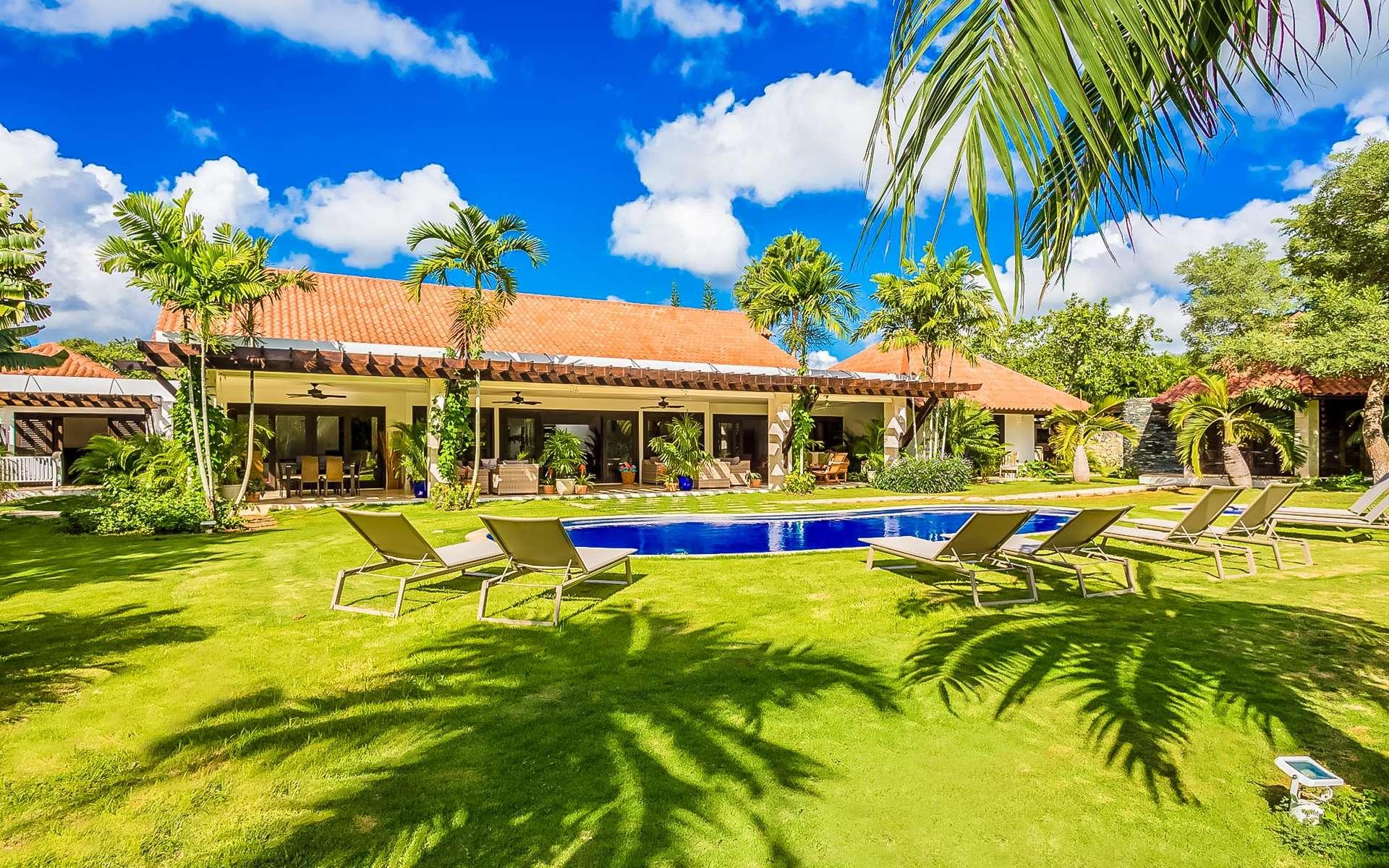 Luxury villa rentals caribbean - Dominican republic - Casa decampo - No location 4 - Los Mangos 18 - Image 1/17