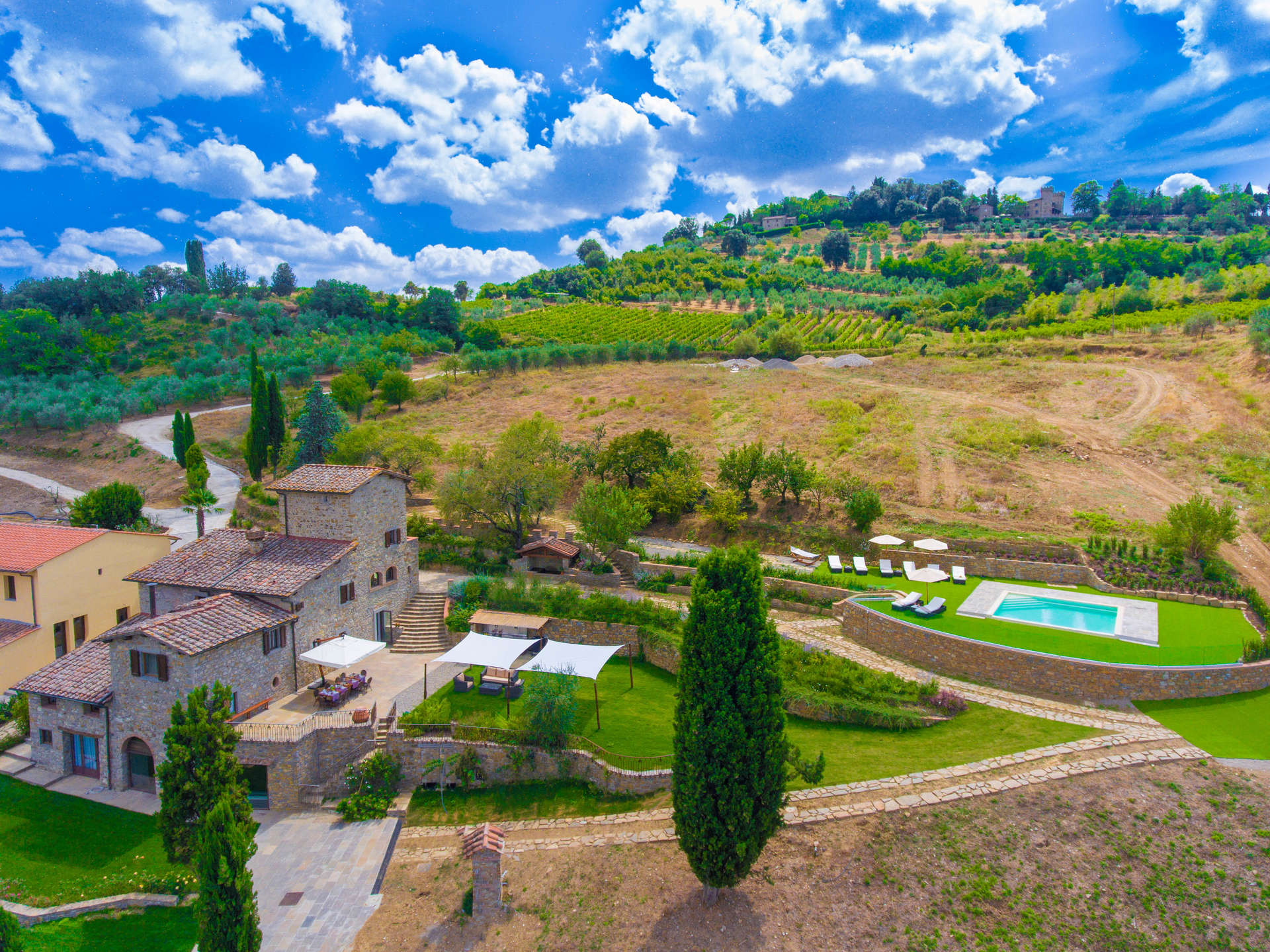 Luxury vacation rentals europe - Italy - Tuscany - Chia nti - Fleda - Image 1/25