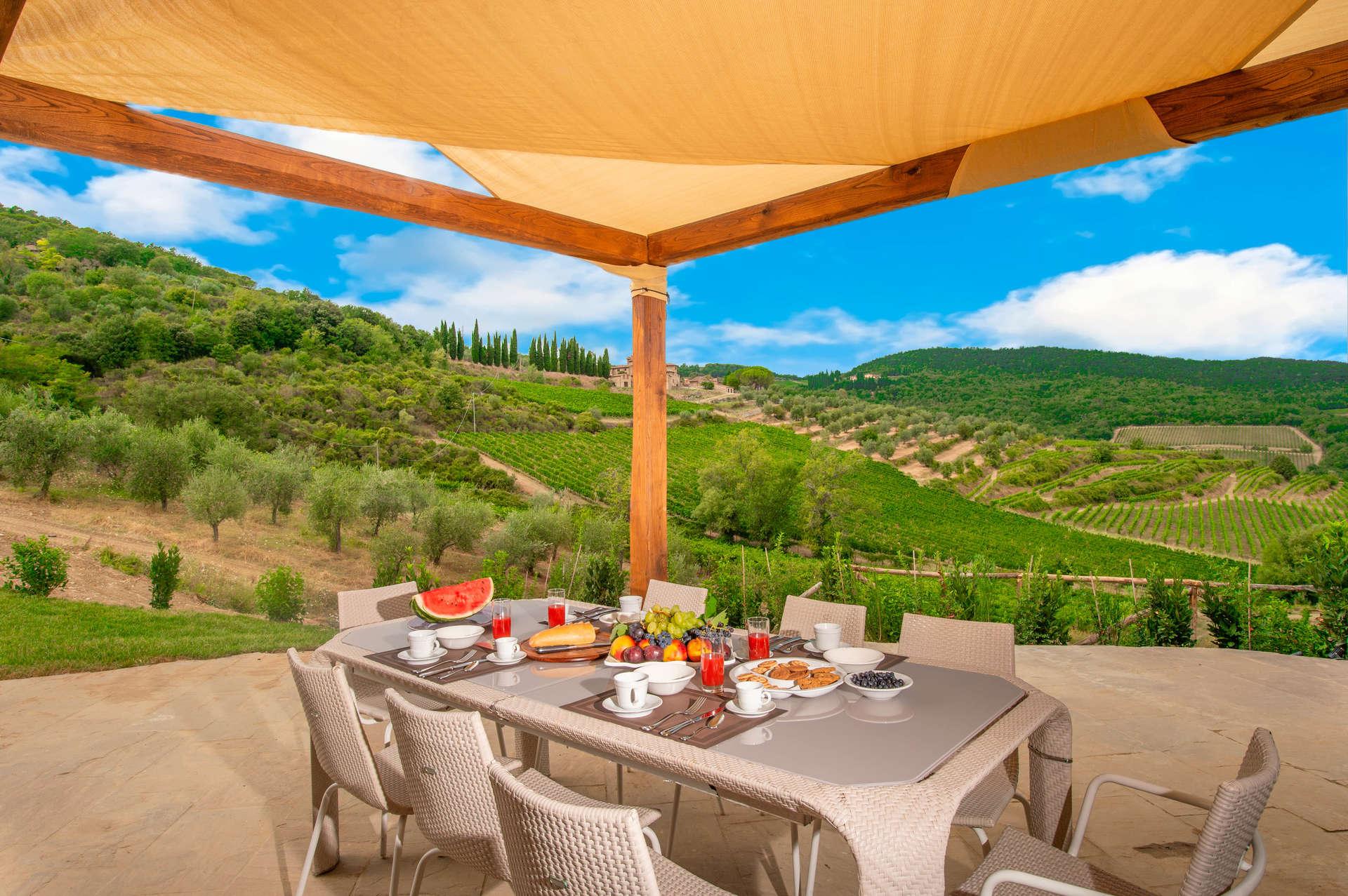 Luxury vacation rentals europe - Italy - Tuscany - Chia nti - Erinda - Image 1/14