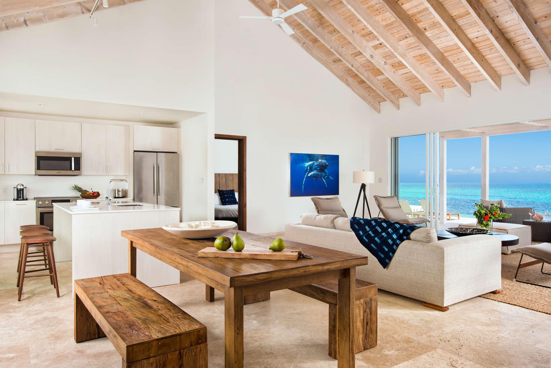 Luxury villa rentals caribbean - Turks and caicos - South caicos - Sailrock resort - Beachfront 4 BDM - Image 1/15