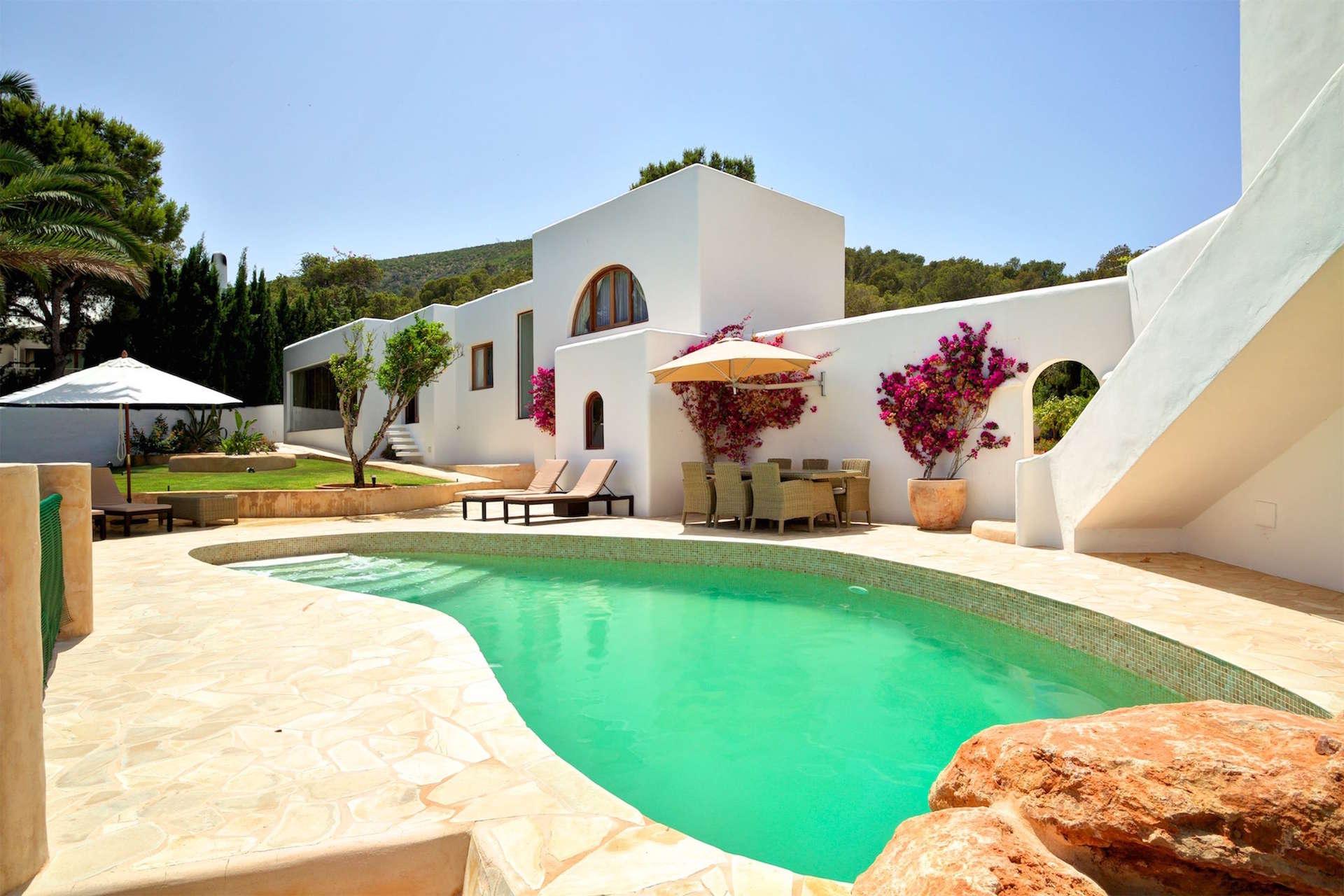 Luxury vacation rentals europe - Spain - Balearic islands ibiza - No location 4 - Vista Sol Den Serra - Image 1/30