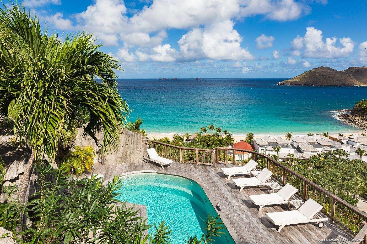 Luxury villa rentals caribbean - St barthelemy - Flamands - Acaï - Image 1/29