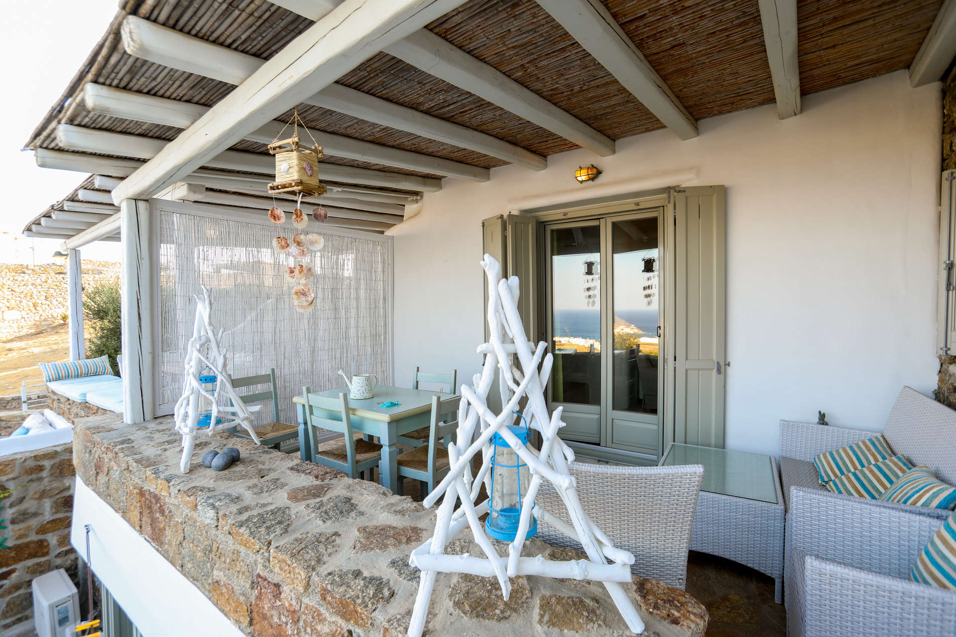 Luxury vacation rentals europe - Greece - Mykonos - Kalafatis - Avra House - Image 1/14