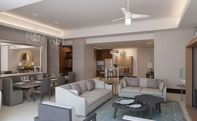 - 2 Bedroom Spa Suite | Grand Luxxe - Image 1/11